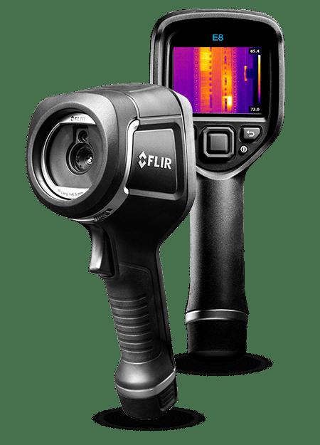 termalna kamera za otkrivanje curenja vode kroz zidove