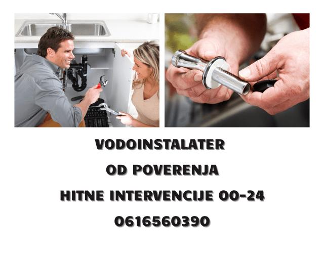 Hitne intervencije vodoinstalater Savski vanec
